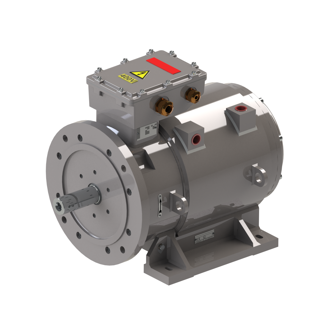 water cooled electric motors